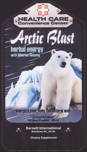 Arctic Blast Dietry Supplement